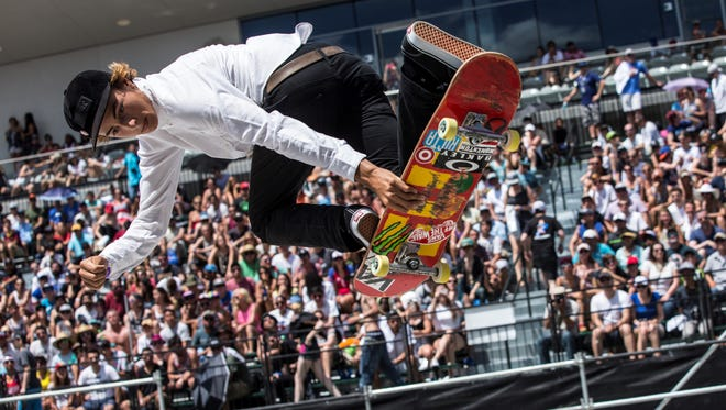 Ventura resident Curren Caples has been a skateboarding sensation since he was just a little kid. The 21-year-old will compete in the X Games in Minneapolis on Sunday.