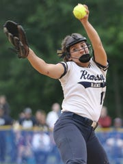 Victoria Sebastian, of Ramsey, had a complete game victory as the Rams won the Bergen County Championship for the second year in a row.  Monday, May 28, 2018