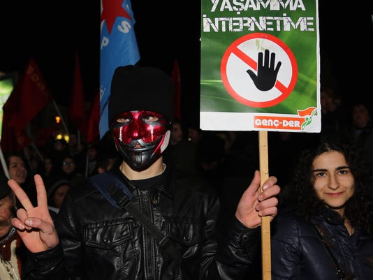 Turkey cracking down on Internet usage