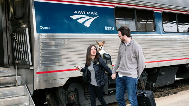 Amtrak announced in February that its pet program on the Northeast Regional and Downeaster routes would become permanent.