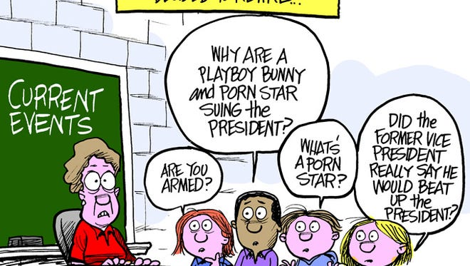 How do parents and teachers explain current events to their kids? Carefully.