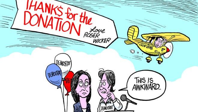 Democratic U.S. Senate Candidate Howard Sherman donates to the GOP.