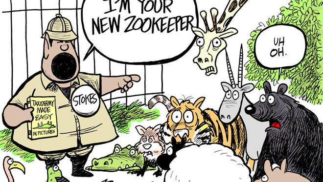Councilman Kenneth Stokes proposes a management change at the Jackson Zoo.