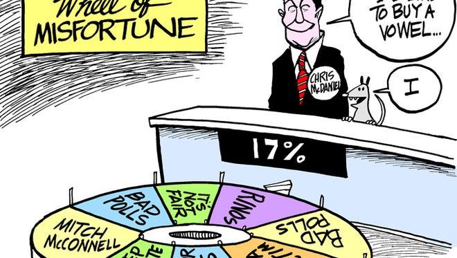 The latest on Chris McDaniel's run for the Senate.