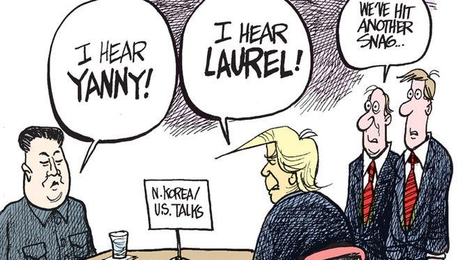 Yanny vs. Laurel North Korean style