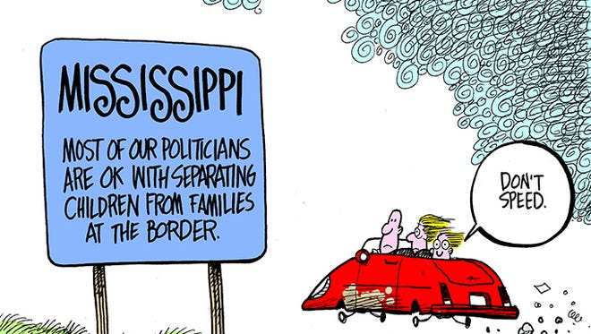 Most of Mississippi's politicians support separating children from their parents on the border.