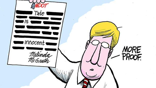 Lt. Governor Tate Reeves claims letter from MDOT Transportation Director Melinda McGrath proves his innocence.
