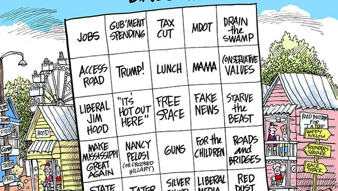 Get out your bingo cards folks, it's time for Neshoba County Fair speeches.
