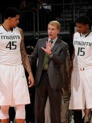 Konkol spent four seasons as assistant men's basketball coach at the University of Miamia