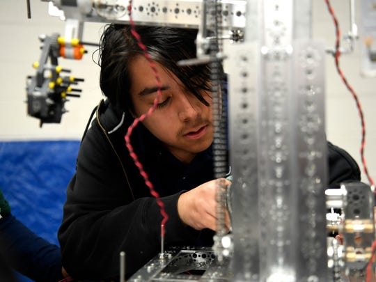 Jeferson Mendoza, a senior at the STEM School in John F. Kennedy High School, was accepted to Dartmouth and wait-listed at Harvard and Columbia.