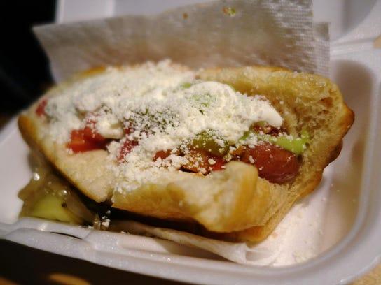 Sonoran Hot Dog from El Caprichoso in Phoenix.