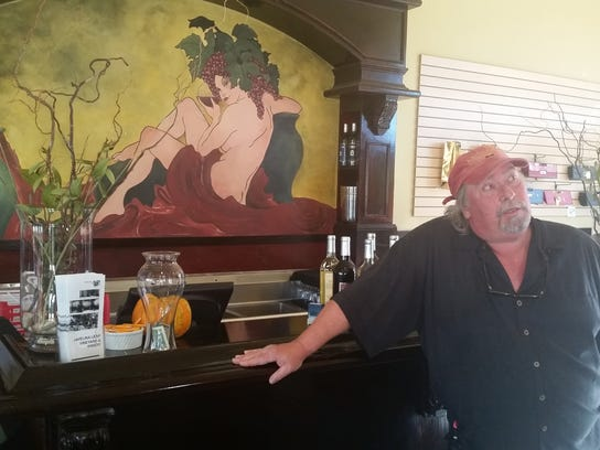 Rob Snapp, owner of Javelina Leap Winery, has watched