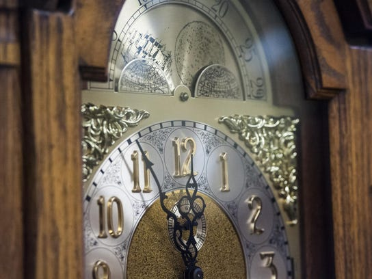 Daylight savings time ends at 2 a.m. Sunday morning.