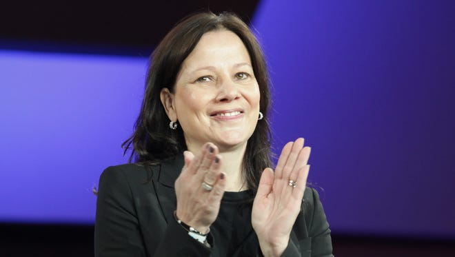 Mary Barra, GM's new CEO, is attending the State of the Union