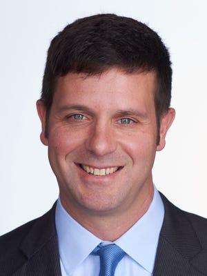 Democratic congressional candidate John Plumb