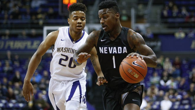 Wolf Pack guard Marcus Marshall ranks in the top five in the Mountain West in scoring, 3-pointers made, assists, assist-to-turnover ratio, free throws attempted and free throws made.