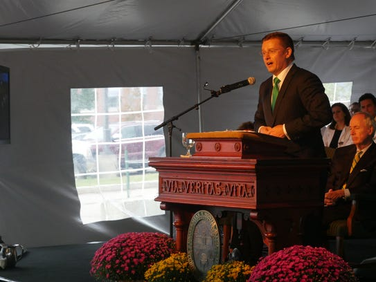 Rich Bundy, CEO of the UVM Foundation said the Larner's