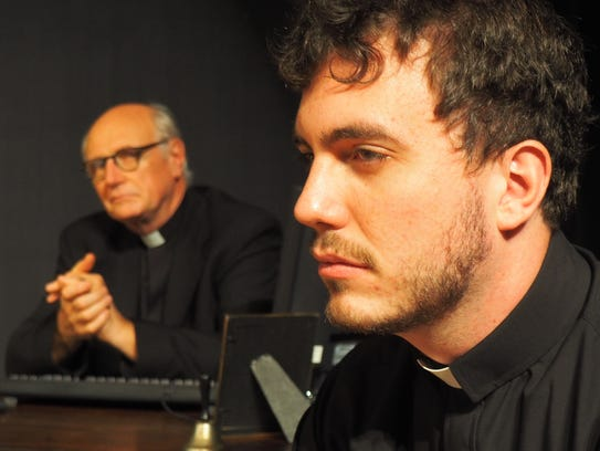 Father Peter, played by Alan Drake, pictured in the