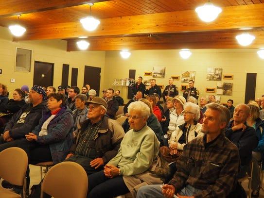 Eldorado community members gather to hear information