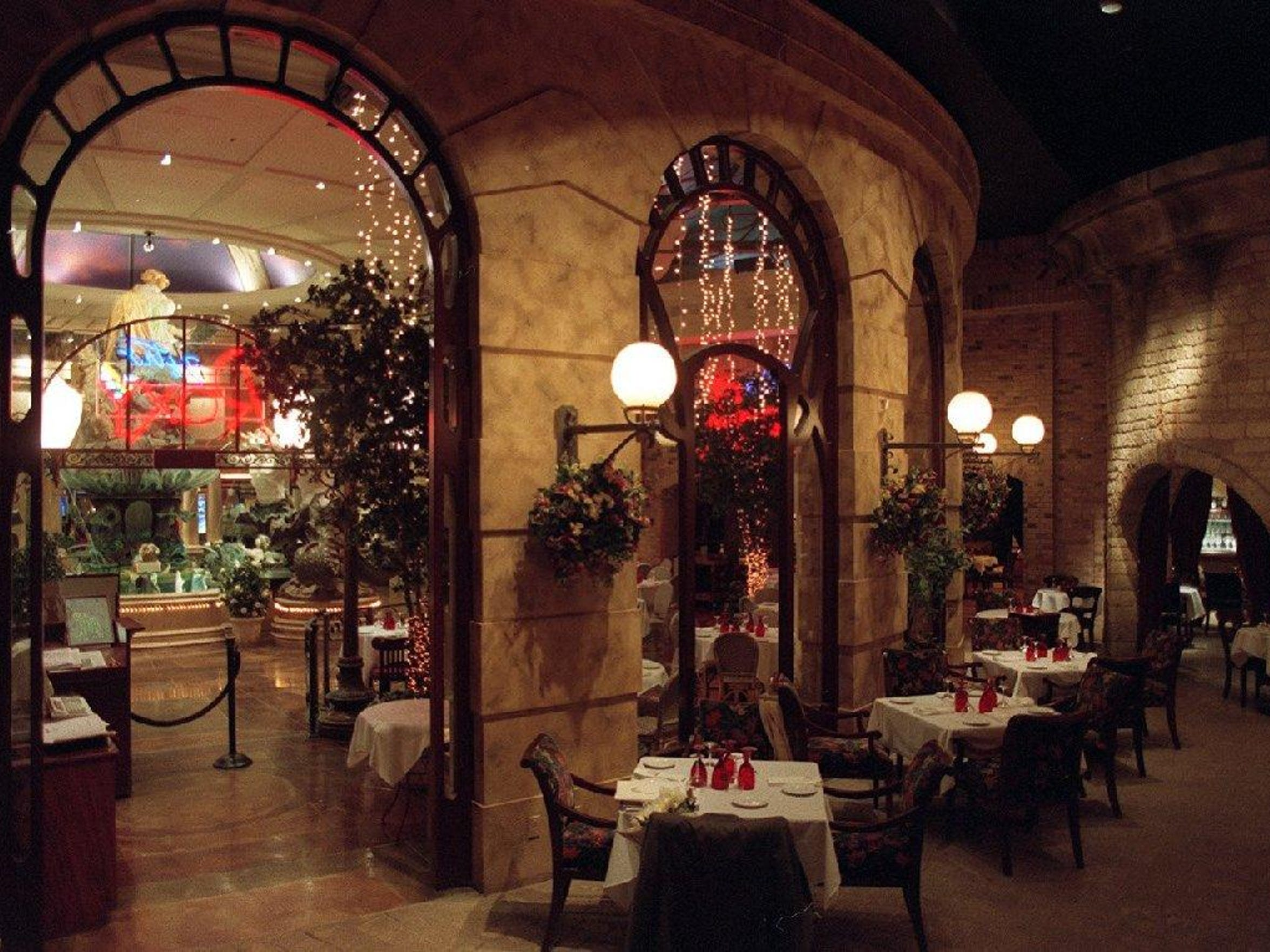 The late Don Carano raised the bar for Reno dining when he opened Bistro Roxy (now Roxy) in 1996. The restaurant, still open, features seven different architectural styles inspired by Europe.