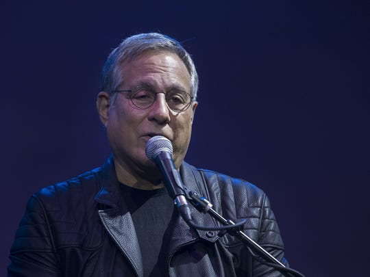 E Street Band drummer Max Weinberg holds an interactive concert experience at Tarrytown Music Hall, Friday.