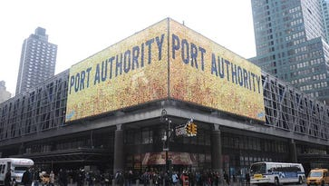 The Port Authority Bus Terminal in midtown.