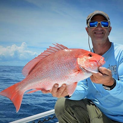 Genuine red snapper, off the keeper list since 2010