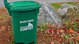 Black Earth compost bin.
