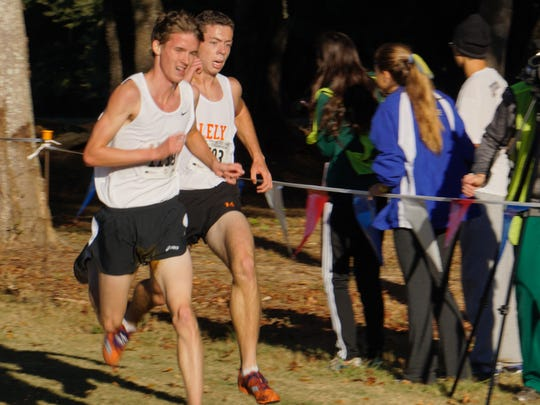 Lely High School cross country runner Josh Wagner competes in the Class 2A state meet in Tallahassee on Saturday, Nov. 5, 2016. Wagner finished 12th.