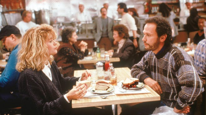 """The deli scene with Meg Ryan and Billy Crystal from """"When Harry Met Sally"""" features one of the top quotes in movie history."""
