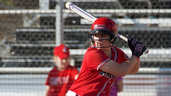 Ohio Valley Conference player of the year Ella Dennis is batting .378 with eight home runs, 70 hits and 39 RBIs.