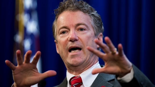 Sen. Rand Paul, R-Ky., says he and Sen. John McCain, R-Ariz., have made up after a rift caused by Paul wrongly saying that McCain had posed for a picture with Islamic State extremists.