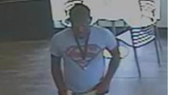 This man is described as a person of interest in a May 24 Lafayette business robbery.