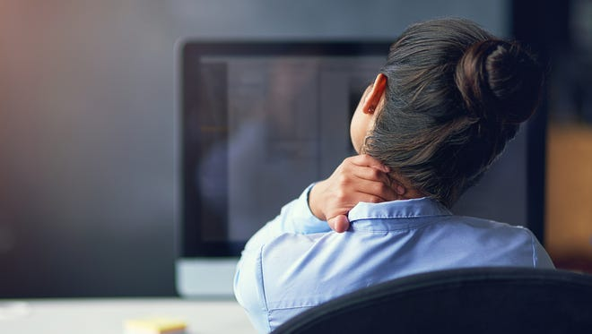 Interruptions can add to workplace stress. It's OK to close the door to focus on getting things done.