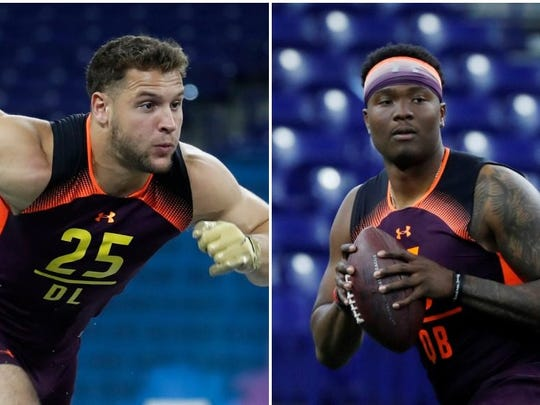 Nick Bosa, Dwayne Haskins USA TODAY Sports)