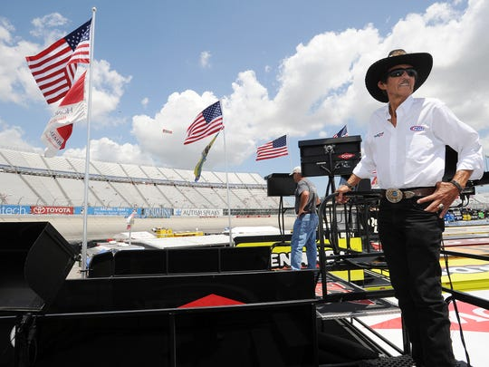 Richard Petty competed in the first race at Dover International Speedway in 1969. He now owns a team, with drivers Aric Almirola and Sam Hornish Jr.