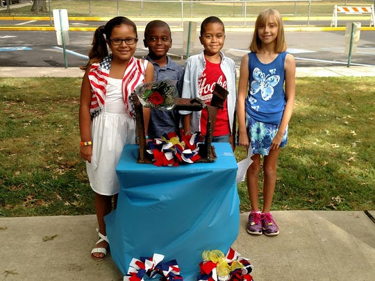 East End Elementary School students remembers 9-11