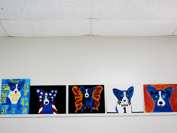 Students' interpretations of the George Rodrigue's