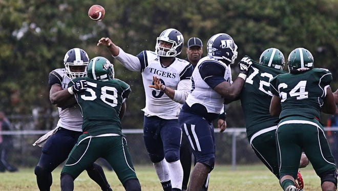JSU quarterback LaMontiez Ivy will sit out and rest his ankle for the rest of the season, interim coach Derrick McCall said on Monday.