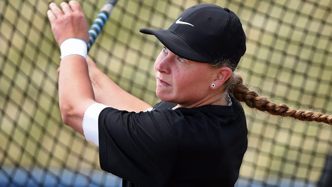 Nevada softball player Megan Sweet was named All-MW for the third time in her career on Tuesday.