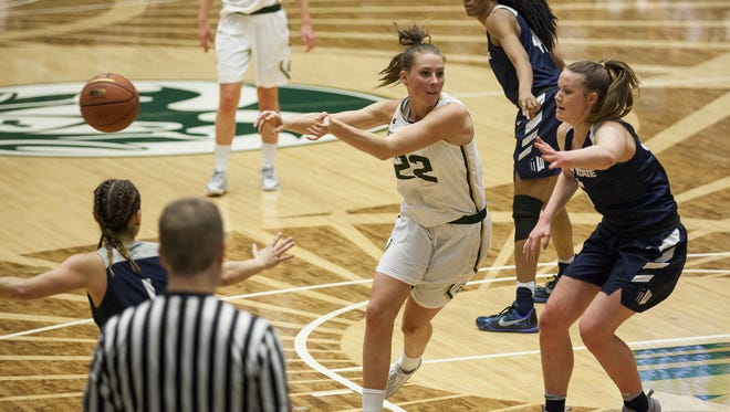 CSU's Elin Gustavsson is the Mountain West women's basketball Player of the Week.
