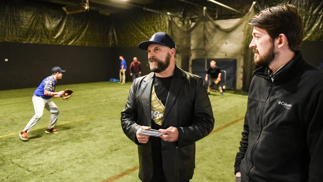 John Bieschke and John Martin opened up The Batt Kave in Swatara Township that is an indoor facility that can be used for a variety of sports like baseball, soccer and field hockey.