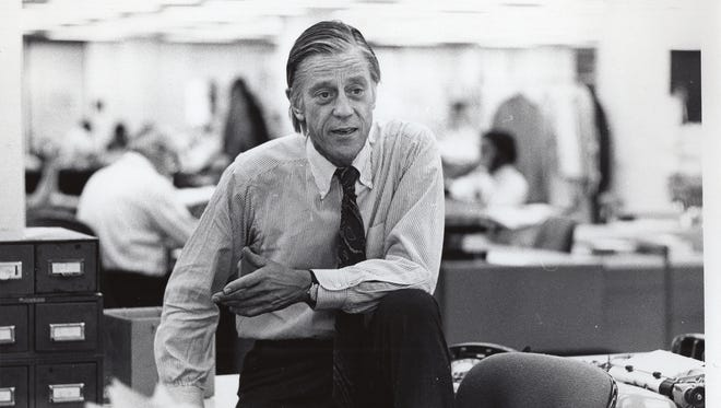 A still from 'Newspaperman: The Life and Times of Ben Bradlee.'