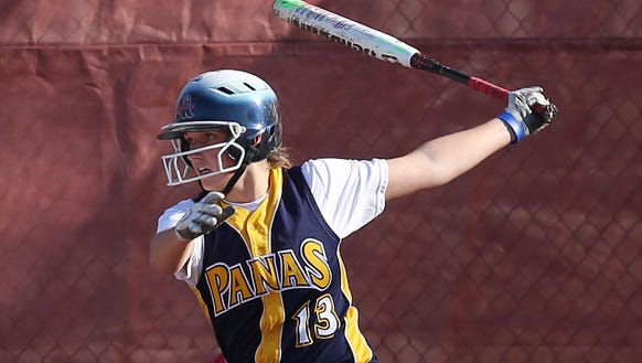 Panas softball player Julia Petrovich will join Port Chester's Brooklyn Ostrowski in Fordham after giving her verbal commitment to the school.