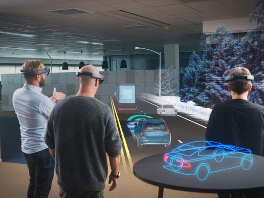 Microsoft's HoloLens has teamed up with Volvo to create