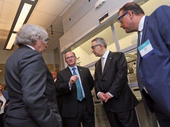 U.S. Secretary of Energy, Dr. Ernest Moniz, Sen. Chris