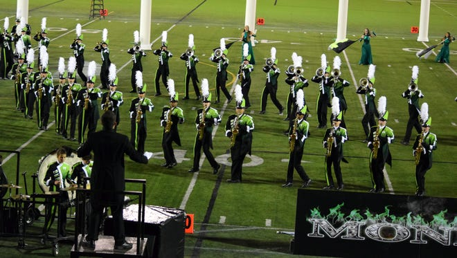 West Salem High School Marching Band won the Sunset Classic at Hillsboro Stadium on Saturday. This weekend, the Titans will defend their regional title at the Northwest Association for Performing Arts Championships at Autzen Stadium in Eugene.