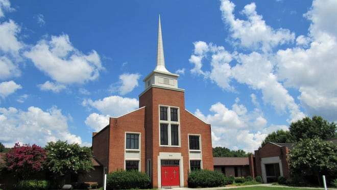 The community/senior center will be located in the former Faith Lutheran Church at 239 Jamestown Boulevard.