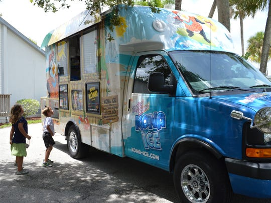 A new Kona Ice food truck is now serving the Fort Myers