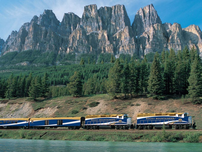 The Rocky Mountaineer has been carrying passengers into the heart of the Canadian Rockies since 1990. Its new Coastal Passage route, in regular play this summer, connects Seattle with the rugged Rockies north of the border.